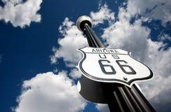 Weg 66 Stockbild
