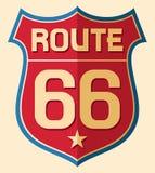Weg 66 stock abbildung