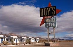 Weg 66 Amboy, Kalifornien Stockbild
