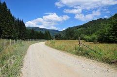 Weg 66 in Rumänien Lizenzfreie Stockfotos