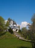 Weg aan de kerk Royalty-vrije Stock Afbeelding
