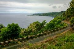 Weg aan Hana, Maui Hawaï Royalty-vrije Stock Afbeelding