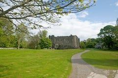Weg aan het kasteel Royalty-vrije Stock Fotografie