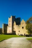 Weg aan het kasteel Royalty-vrije Stock Foto's