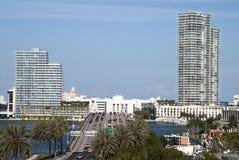 Weg aan het Strand van Miami Royalty-vrije Stock Foto