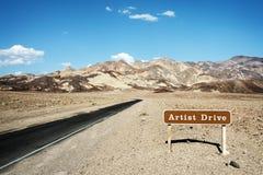Weg aan Kunstenaar Drive Royalty-vrije Stock Afbeelding