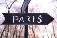 Weg aan Parijs stock foto's