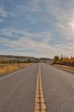 Weg in Alberta Foothills Royalty-vrije Stock Fotografie