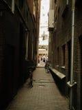 Weg in Amsterdam Lizenzfreie Stockbilder