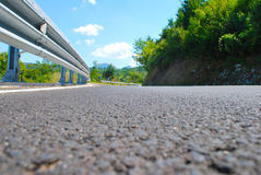 Weg, asfalt Royalty-vrije Stock Foto's