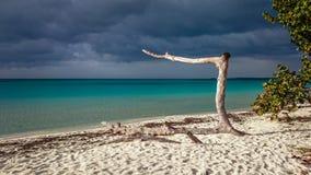 Weg auf dem sieben Meilen-Strand Stockfotografie