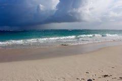 Weg auf dem Strand Lizenzfreies Stockfoto