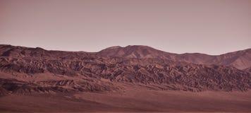 Weg auf Mars stockbild
