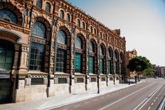 Weg in Barcelona Lizenzfreie Stockfotos