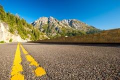 Weg bij Meer Tahoe in Californië Royalty-vrije Stock Foto's