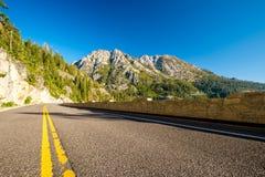 Weg bij Meer Tahoe in Californië Stock Afbeeldingen