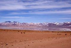 Weg in Bolivië Royalty-vrije Stock Fotografie