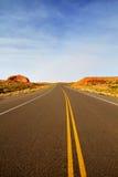 Weg in Canyon DE Chelley in AZ stock afbeeldingen