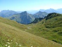Weg in de berg Stock Foto
