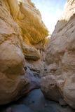 Weg in de Canion van Californië royalty-vrije stock afbeelding