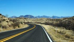 Weg in de staat van Arizona Stock Afbeelding