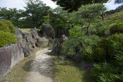 Weg in de tuin van Tokyo Royalty-vrije Stock Fotografie