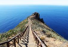 Weg in den Ozean Lizenzfreie Stockfotos