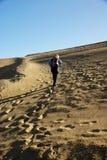 Weg in der Wüste Stockfotos