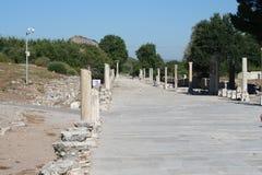 Weg die tot Ephesus-Stadion leiden royalty-vrije stock afbeelding