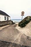 Weg die tot het strand leiden Royalty-vrije Stock Afbeelding