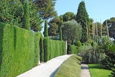 Weg door tuin Royalty-vrije Stock Afbeelding