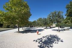 Weg Du Pont du Gard, Frankrijk Stock Foto's