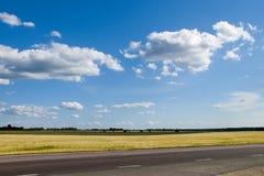 Weg en landschap Stock Foto's