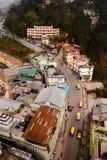 Weg in Gangtok, Sikkim, India Royalty-vrije Stock Afbeeldingen