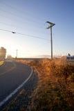 Weg in het platteland Stock Fotografie