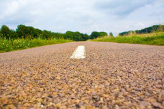 Weg in landschap Stock Fotografie