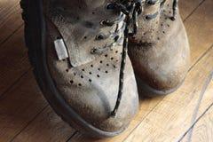 Weg in meinen Schuhen Lizenzfreie Stockbilder