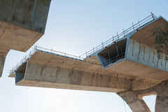 Weg onder wederopbouw Stock Afbeelding