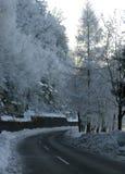 Weg in Oostenrijk Stock Afbeeldingen
