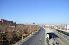 Weg in Peking Royalty-vrije Stock Afbeeldingen