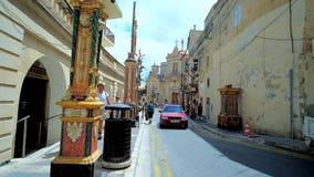 Weg in Rabat, Malta stock video footage