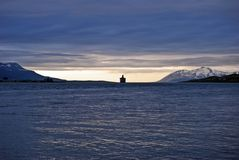 Weg segeln lizenzfreies stockfoto