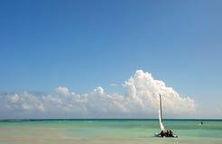 Weg segeln Lizenzfreie Stockfotografie