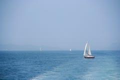Weg segeln Lizenzfreie Stockbilder