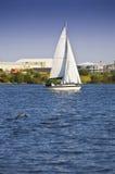 Weg segeln Stockfoto