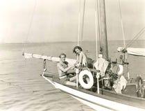 Weg segeln stockfotos