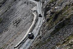 Weg in Tibet Royalty-vrije Stock Afbeelding