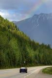 Weg trans-Canada royalty-vrije stock fotografie