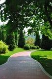Weg in tuin 4913 Stock Foto's
