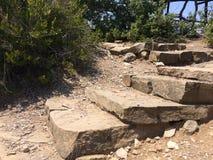 Weg van een natuursteen Stock Foto